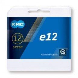 Cadena KMC 12v E12 dorada...