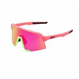 Gafas 100% S3 rosa mate con...