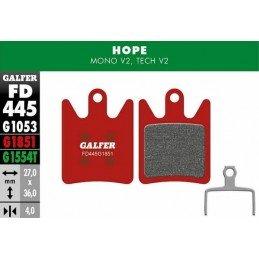 Pastillas Galfer para Hope...