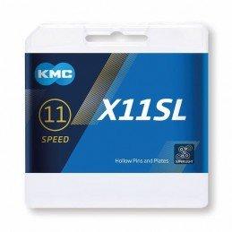 Cadena KMC 11v X11SL Plata...